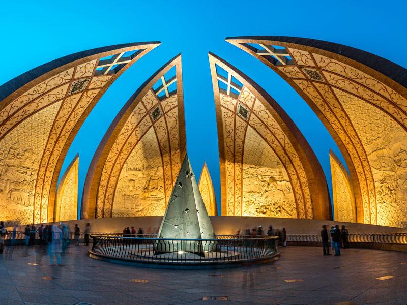 the pakistani monument