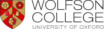 Wolfson College crest and name