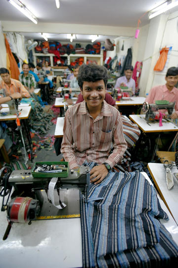 Textile factory in Bangladesh